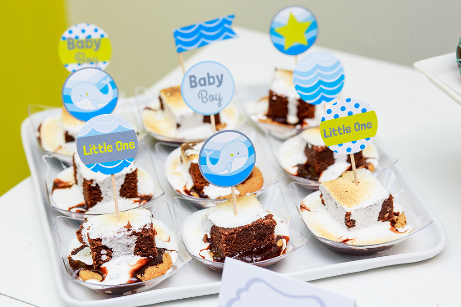 Baby shower high tea